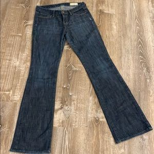 Gap Fit and Flare Stretch Jeans 4 long